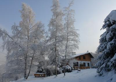 noclegi Ustroń Willa Panorama zima